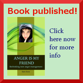Explicit anger book ad